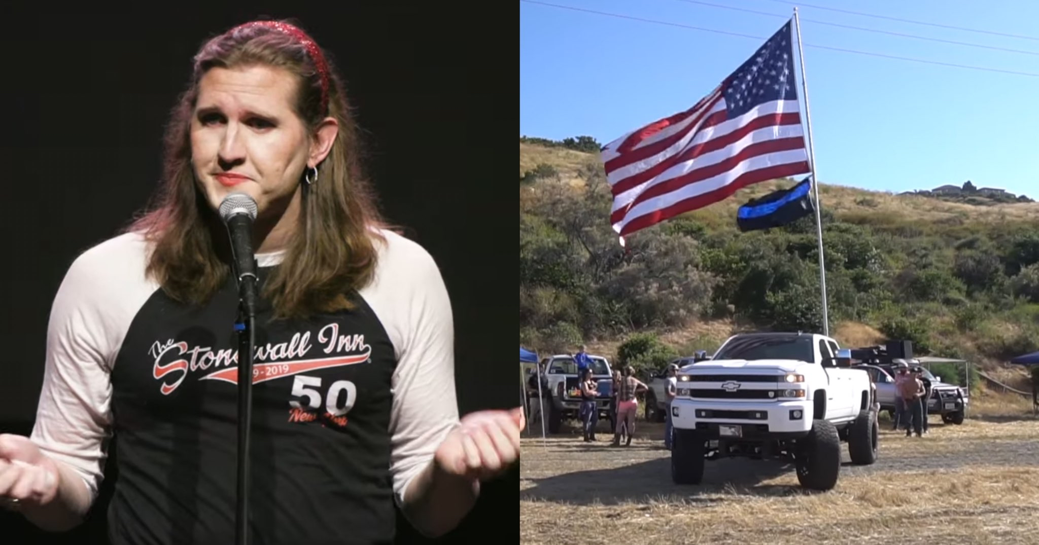 Transgender Veteran Believes People Who Fly Flags on Their Trucks are Sending the Message: America is a Conservative, White Country - Media Right News